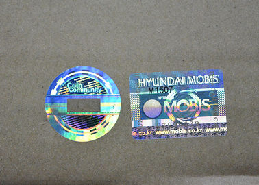 Custom Clear Holographic Security Stickers With Own Brand