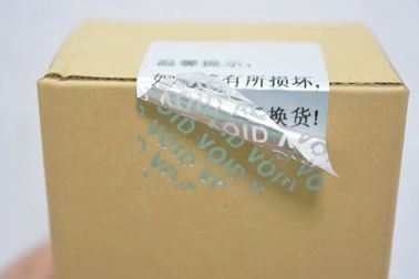 China Anti - Counterfeit Void If Removed Sticker Security VOID Label To Sealing Important Product supplier